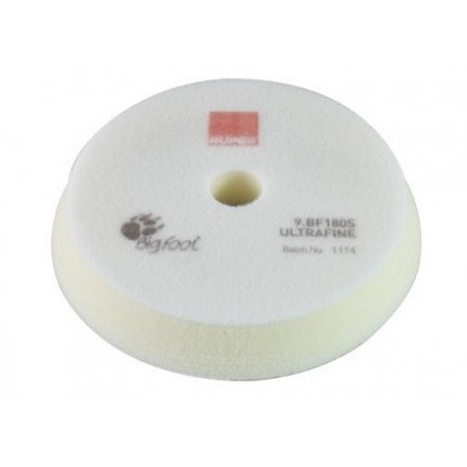 Полировальный поролоновый диск RUPES сверхмягкий белый 150/180 мм